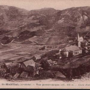 L'ancien paysage de Saint Martial