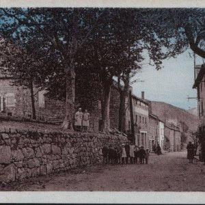 Le village autrefois
