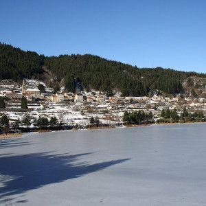Le lac en hiver