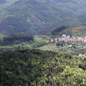 Les montagnes de Saint Martial