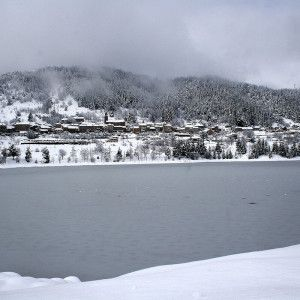 Saint Martial sous la neige